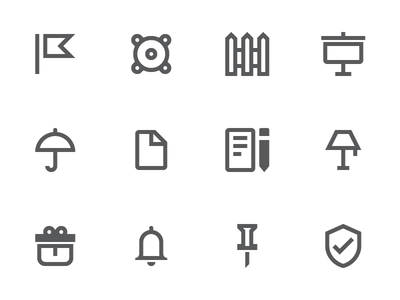 Material Design Outline Icons