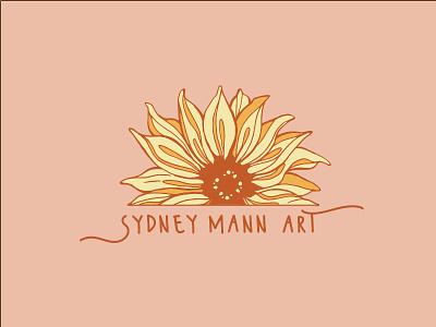 Sydney Mann Art Branding typography vector logo illustration icon graphic design design branding