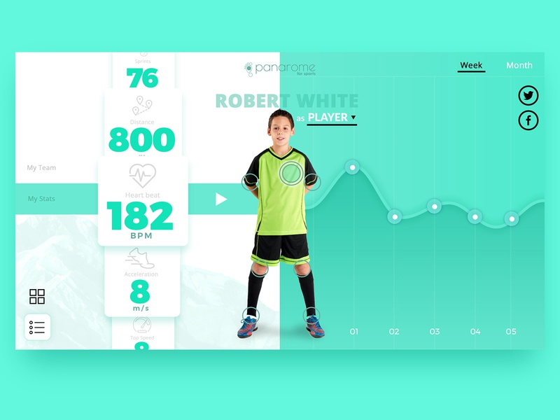 Sports app layout design mobile application list app dashboard stats applications sports app website ux ui