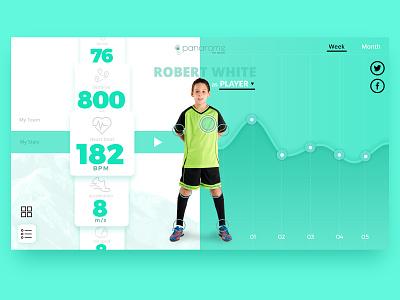 Sports app layout design mobile application list app dashboard stats applications sports app website ux ui