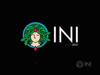 INI Skin care logo