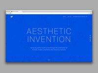 Aesthetic Invention Website