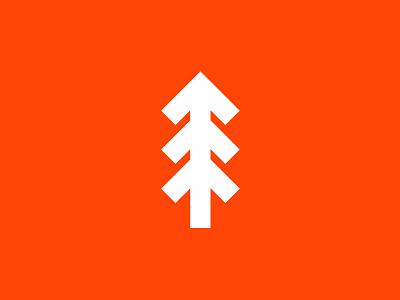 Nextgen Logo tree urgent environment arrow progress red-orange our land