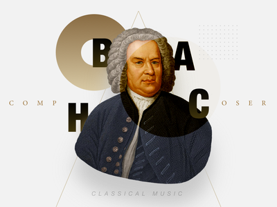 BACH composer bach classical music lp