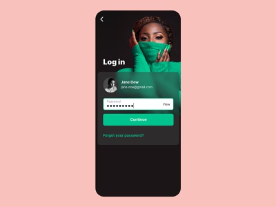 Mobile app login screen and sign up flow error credential form password ux ui signup screen signup form signup page signupform signin signup login design login screen login form login page log in login app mobile