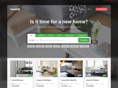 HomeZZ: Real Estate Listings