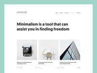 mintimal: Portfolio