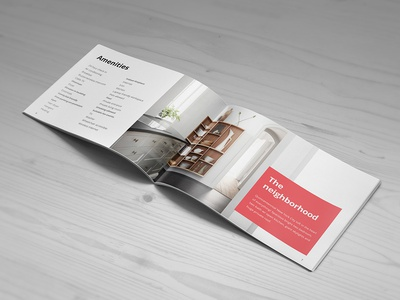 BNB Brochure brochure accommodation bnb booking guests host rentals room template tourists travel vacation