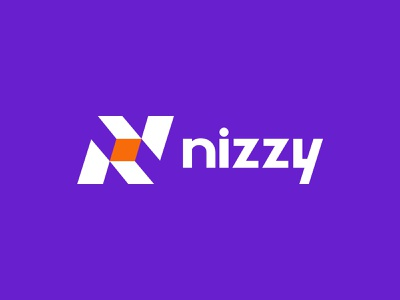 Nizyy Logo technology logo flat brand identity design branding logo