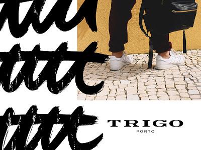 Trigo Porto Identity xestastudio xestaone xesta typography typemystyle type skillsmadeofdouro logo lettering illustration calligraphy calligraffiti