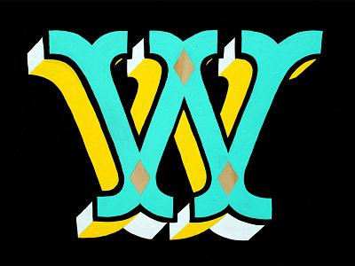 WCFS signage signpainting xestaone xestastudio xesta typography typemystyle type skillsmadeofdouro scriptease illustration logo lettering handstyle caligrafitti calligraphy caligrafia branding