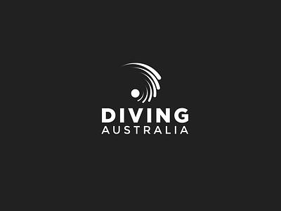 Brand identity: Diving Australia print digital brand identity branding logo design