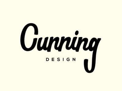 Cunning design logo