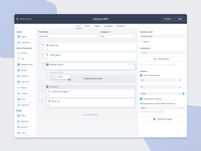 Form Builder build free dashboard ux ui product workflows saas design system audits forms form builder