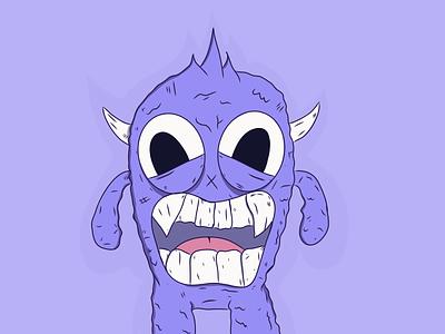 Monstrito doodle design illustra monster adobe draw character halloween illustration sketch