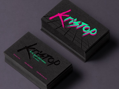 Kristop Business Card Design