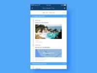 Daily UI 79 Itinerary