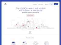Real estate landing page - refined
