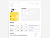 Subject Performance Report