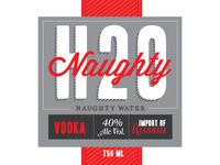 Naughty H20 Vodka