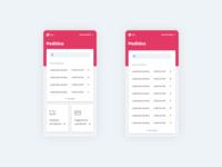 Order Management webview ecommerce management mobile interaction ux app ui