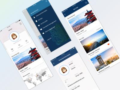 User profile - Daily UI #006
