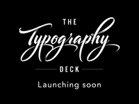 The Typography Deck