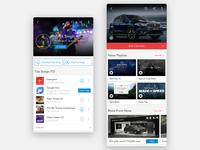 Wynk Music - Artist & Sponsor Album sponsor airtel spotify gaana wynk music sound redesign play lists rails ui streaming podcast player music minimal clean audio app album