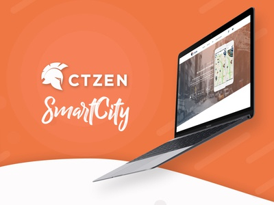 CTZEN warrior helmet agent web design uiux government citizen sustainable development sustainability smart city