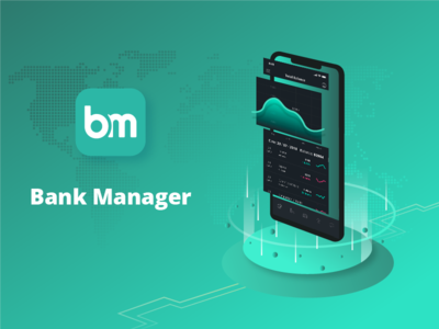 Bank Manager finance cards payment ux ui wallet mobile banking fintech