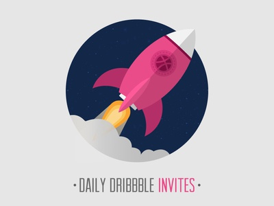 Daily Dribbble Invites by WooRockets