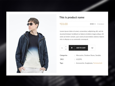 Product Quick View - Nitro eCommerce quickview quick view nitrowp nitro psd woocommerce web design ecommerce design psd design ecommerce