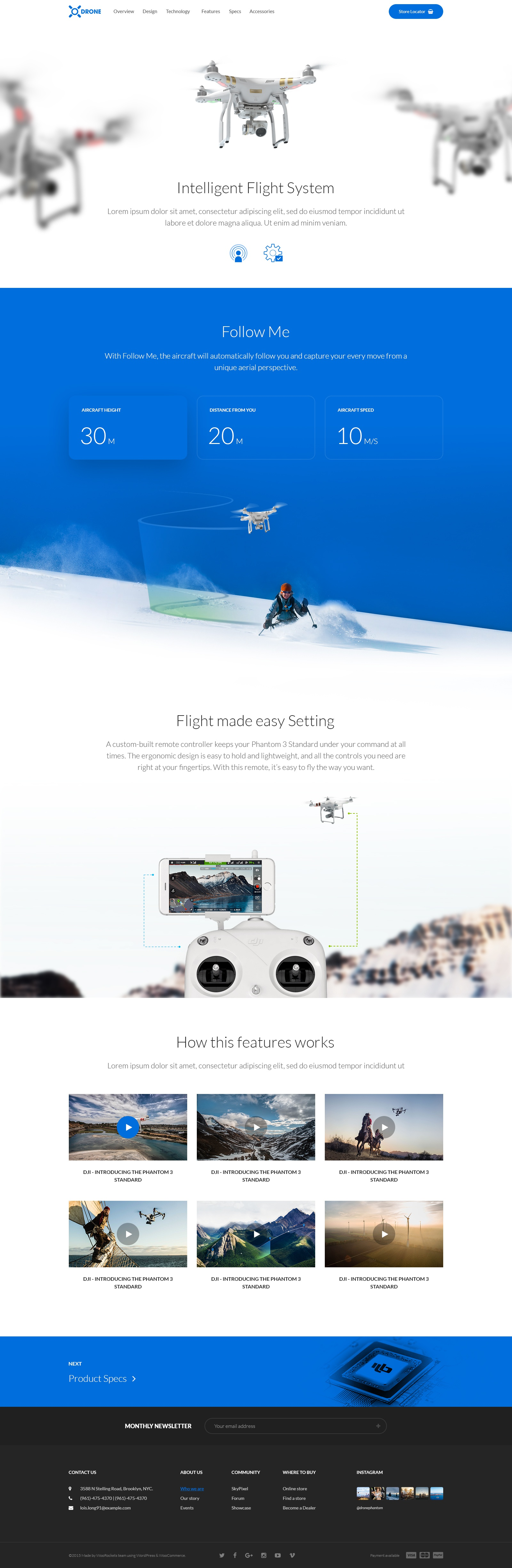 Drone features