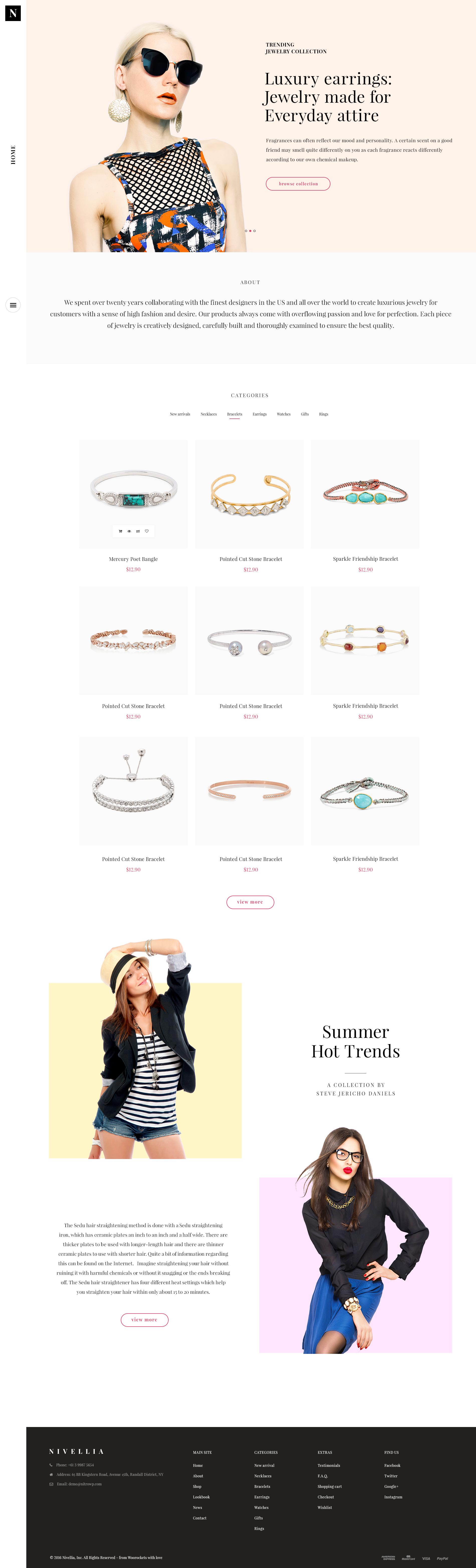 Shot jewelry attachment
