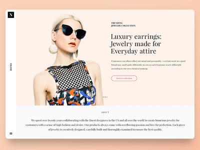 Nitro theme - Jewelry online shop niche
