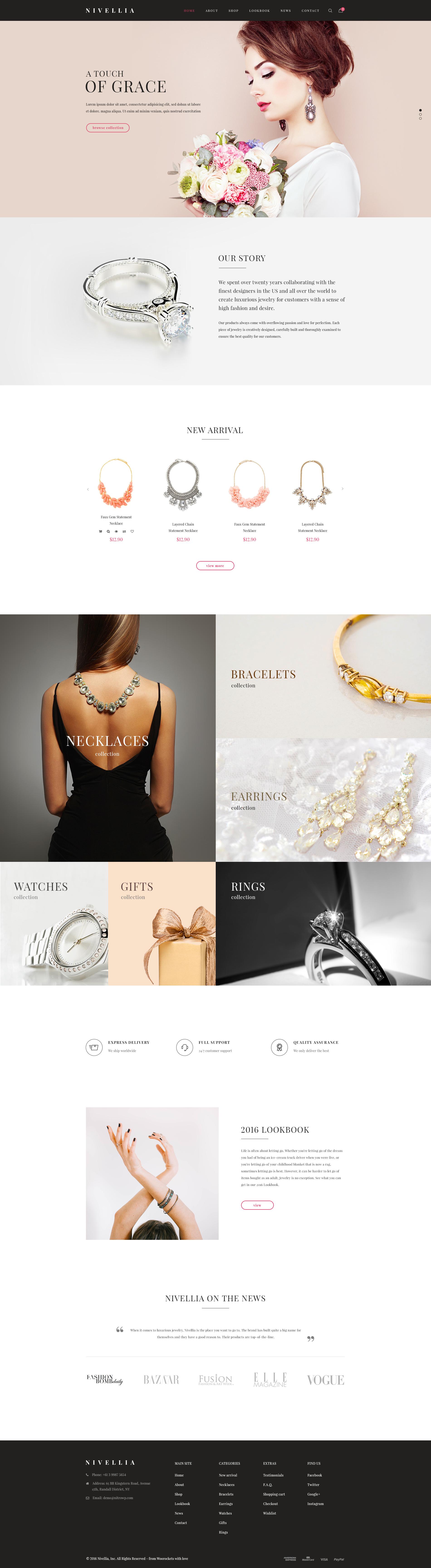 Nitro theme jewelry