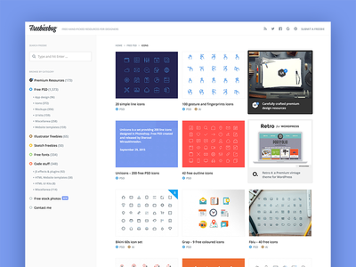 Freebiesbug 4.0 minimal design template website sketch psd freebies