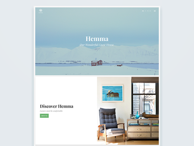 Discover Hemma bb holiday house guest house resort one page theme wordpress hemma