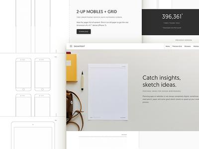 Sneakpeekit 2: Redesign + New Sheets