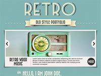 """A Wordpress """"Retro"""" Theme!"""