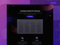 Florence - HTML landing page for startups