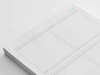 Sneakpeekit Sketch Sheets - 4 up browsers