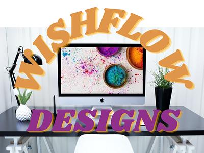 WishFlow Graphic Designs graphic design ux vector ui logo typography illustration icon design branding app