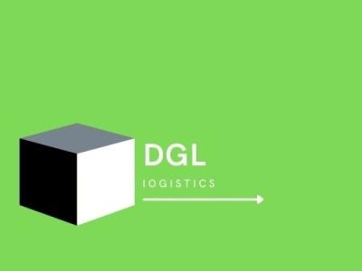 Logo Design (Example) - DGL Logistics minimalism graphic design typography logo illustration design branding logistics