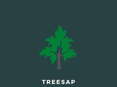 Logo Design (Example) - Treesap Nature Reserve dark blue brown green reserve nature sap tree graphic design typography logo illustration design branding
