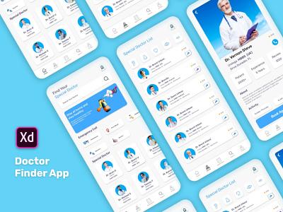 Doctor Finder App minimalist clean minimal minimalist clinic clean minimal minimalist patient app medicine patient app doctor appointment doctor real estate mobile app ios doctor finder app