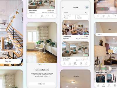 Real Estate Mobile App IOS mobile app eal estate mobile app real estate mobile app ios
