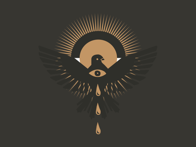 Espirito Santo identity symbol mark wings sun olho eye passaro xilo bird
