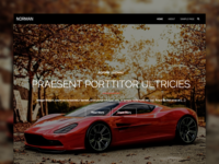 Norman WP theme
