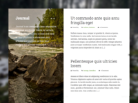 Journal WP theme